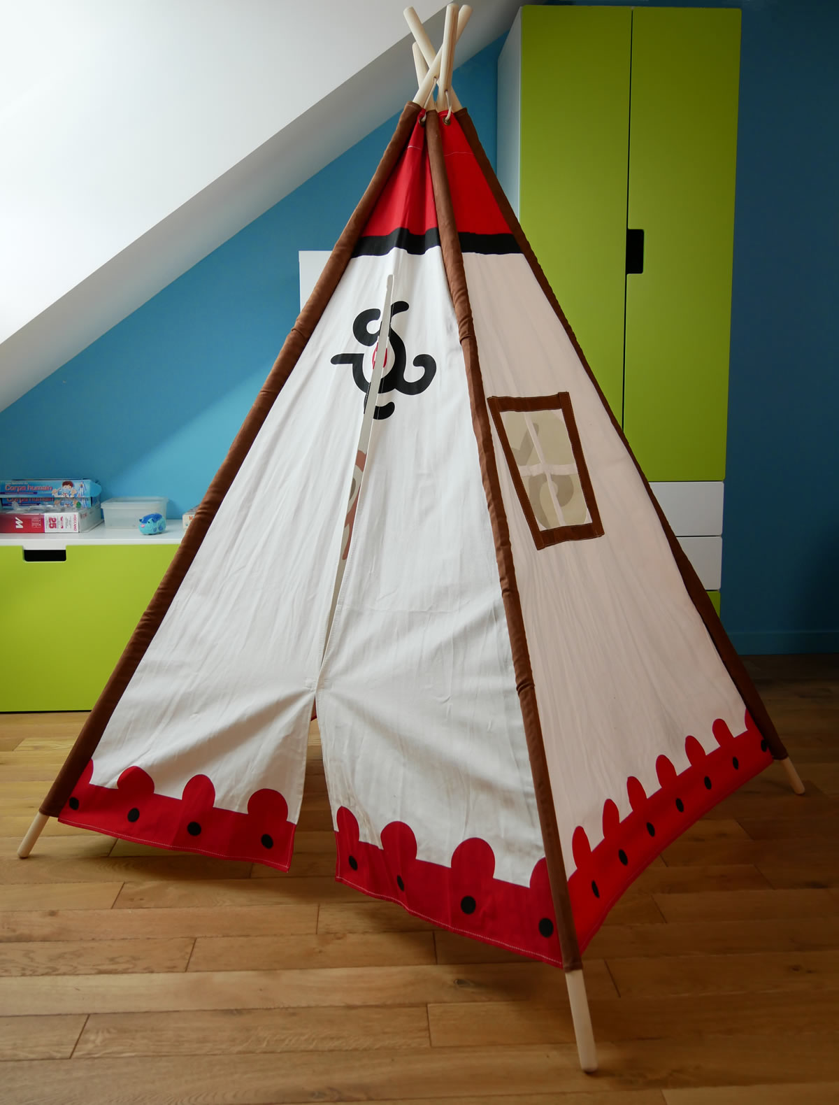 tipi indien cherokee tipi enfant childfun. Black Bedroom Furniture Sets. Home Design Ideas